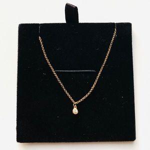 Mejuri Gold Vermeil Chain Sapphire Choker